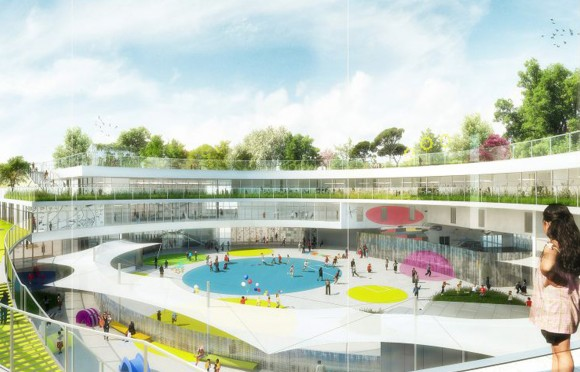 Aubervilliers - Groupe scolaire
